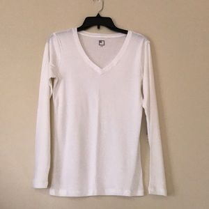 jcpenney Tops - Long-sleeved white tee